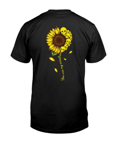 Skulls And Sun Flower