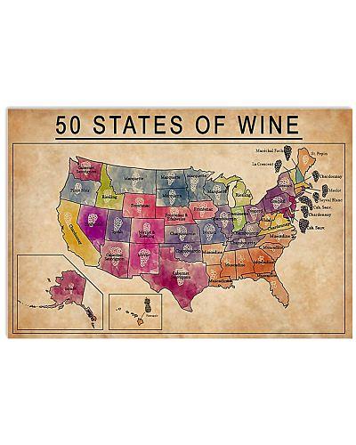 50 States Of Wine