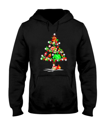 Camping Christmas Tree - Noel T Shirt