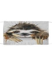 Sloth Face Mask 0305 QV Cloth face mask front