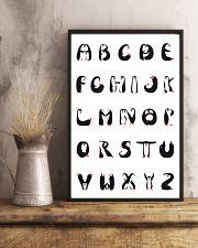 Penguins Alphabet 11x17 Poster lifestyle-poster-3