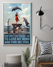 Dolphin Into The Ocean Lose My Mind Find My Soul 6 11x17 Poster lifestyle-poster-1