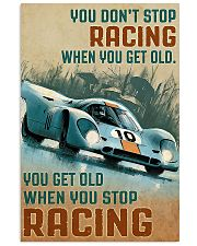 Racing You Don't Stop 11x17 Poster front