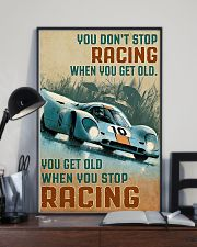 Racing You Don't Stop 11x17 Poster lifestyle-poster-2