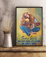 Some Girls Are Just Born With Guitar In Their Soul 11x17 Poster lifestyle-poster-3