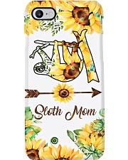 Sloth Mom Sun Flower Phone Case i-phone-7-case