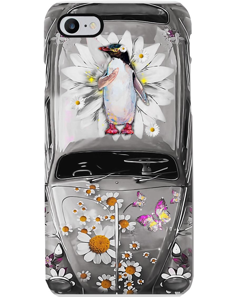 Penguin Daisy Phone Case Phone Case