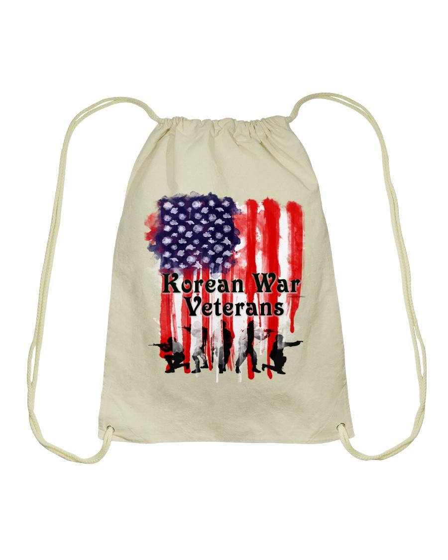Korean War Veterans Gifts Drawstring Bag