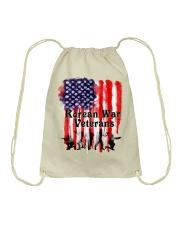 Korean War Veterans Gifts Drawstring Bag front