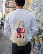 Korean War Veterans Gifts Drawstring Bag lifestyle-drawstringbag-front-1