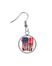 Korean War Veterans Gifts Circle Earrings thumbnail