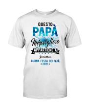 QUESTO PAPA MERAVIGLIOSO Classic T-Shirt front