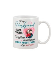 I AM YOURS Mug front