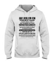 JA JEG ER EN FORKÆLET MAND Hooded Sweatshirt thumbnail