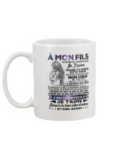 A MON FILS Mug back