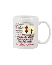 AN MEINEN SOHN Mug front