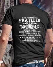 SONO UN OROGLIOSO FRATELLO Classic T-Shirt lifestyle-mens-crewneck-back-2