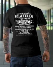 SONO UN OROGLIOSO FRATELLO Classic T-Shirt lifestyle-mens-crewneck-back-3