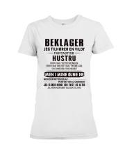 BEKLAGER JEG TILHORER Premium Fit Ladies Tee thumbnail