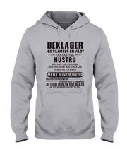 BEKLAGER JEG TILHORER Hooded Sweatshirt thumbnail