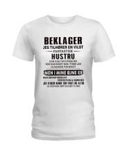 BEKLAGER JEG TILHORER Ladies T-Shirt thumbnail