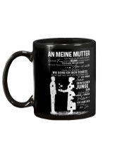 AN MEINE MUTTER Mug back