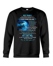 MY MAN Crewneck Sweatshirt thumbnail