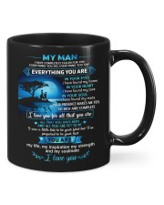 MY MAN Mug front