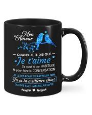 MON AMOUR Mug front