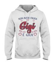NON AVERE PAURA Hooded Sweatshirt thumbnail