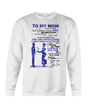 TO MY MOM Crewneck Sweatshirt thumbnail