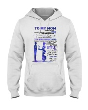 TO MY MOM Hooded Sweatshirt thumbnail