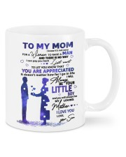 TO MY MOM Mug front