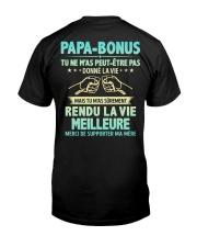 PAPA BONUS Classic T-Shirt back