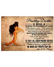 AAN MIJN PRACHTIGE DOCHTER 17x11 Poster front