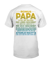 BONUS PAPA Classic T-Shirt back