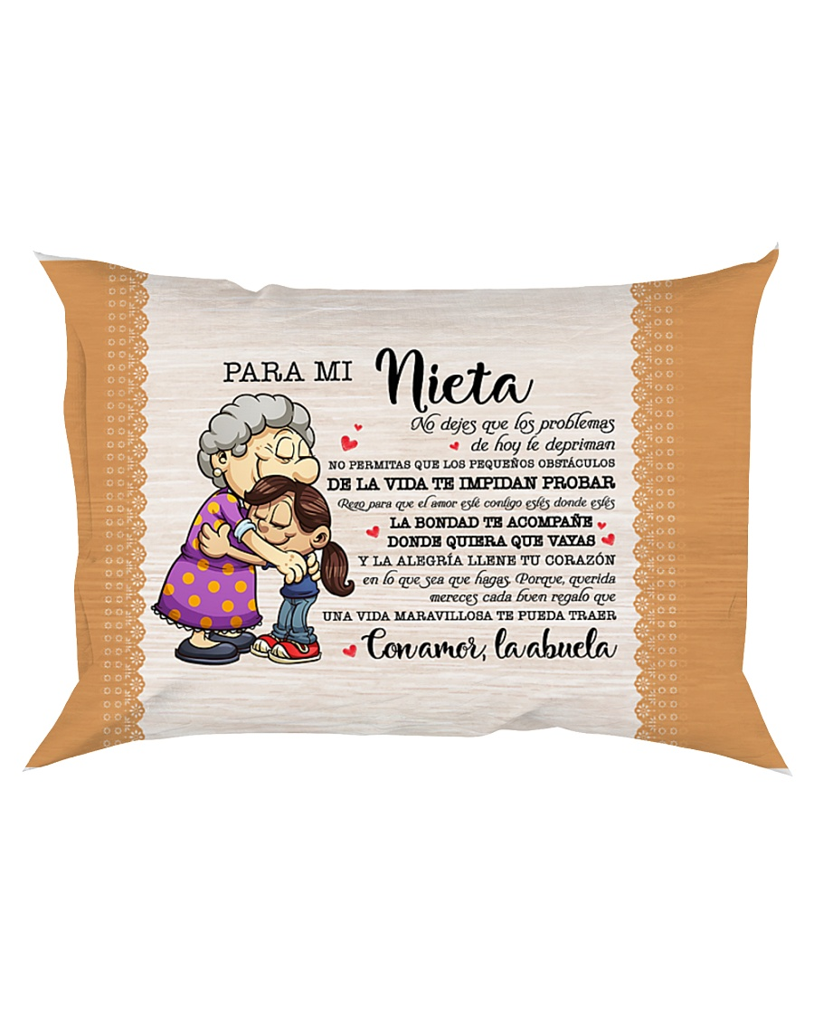 PARA MI NIETA Rectangular Pillowcase