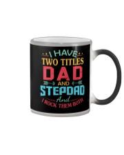 I HAVE TWO TITLES DAD Color Changing Mug thumbnail