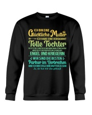 ICH BIN EINE GLUCKLICHE MUTTER Crewneck Sweatshirt thumbnail
