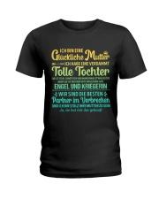 ICH BIN EINE GLUCKLICHE MUTTER Ladies T-Shirt front
