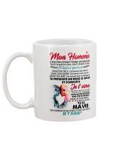 MON HOMME Mug back