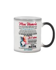 MON HOMME Color Changing Mug tile