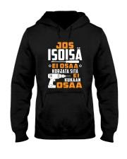 JOS ISOISA EI OSAA Hooded Sweatshirt thumbnail
