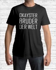 OKAYSTER BRUDER DER WELT Classic T-Shirt lifestyle-mens-crewneck-front-1