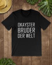 OKAYSTER BRUDER DER WELT Classic T-Shirt lifestyle-mens-crewneck-front-18