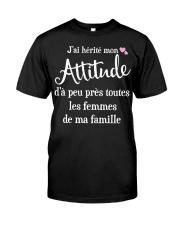 J'AI HEPITE MON ATTITUCLE  Classic T-Shirt thumbnail