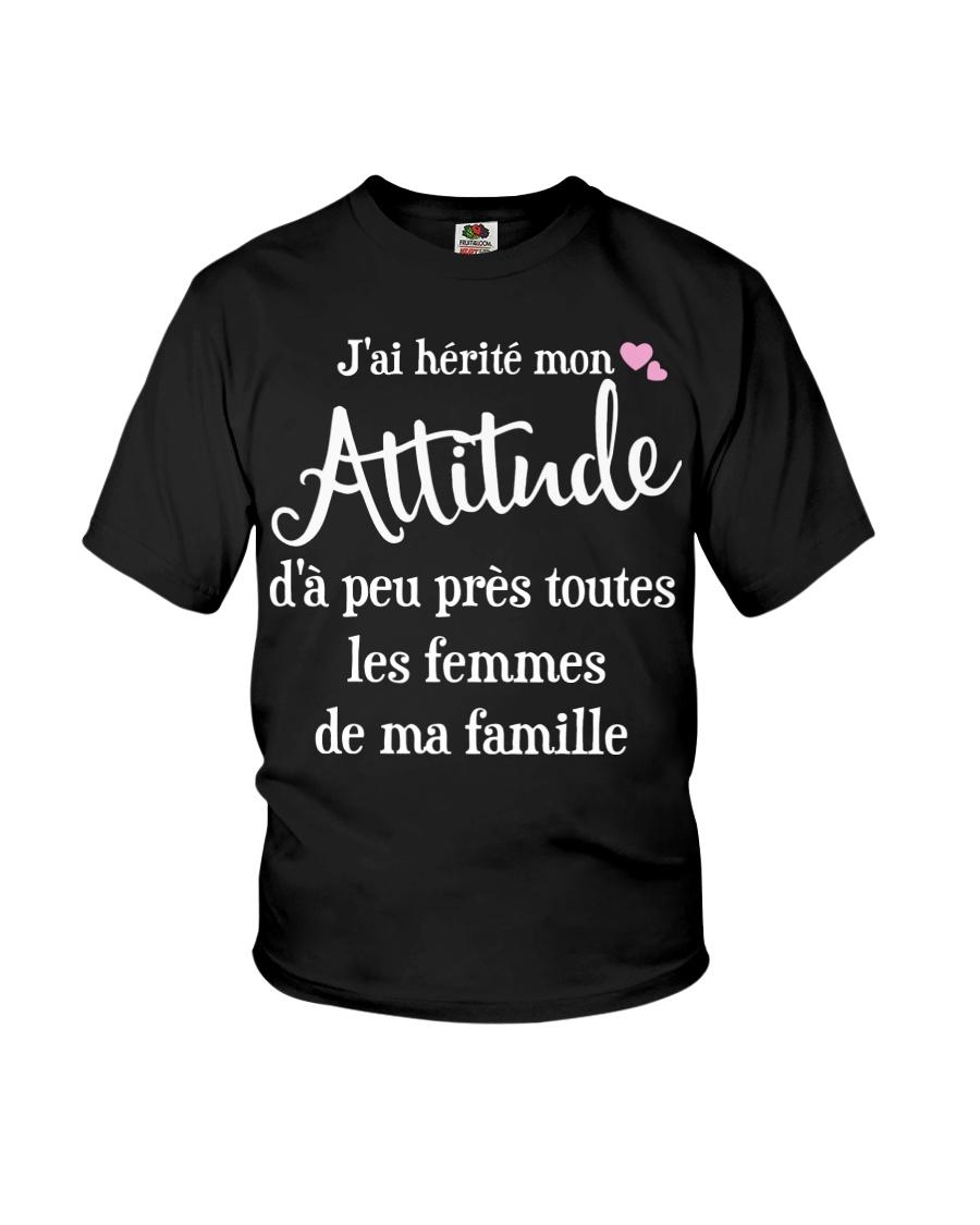J'AI HEPITE MON ATTITUCLE  Youth T-Shirt