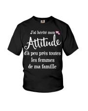 J'AI HEPITE MON ATTITUCLE  Youth T-Shirt front