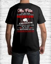 MA FILLE  Classic T-Shirt lifestyle-mens-crewneck-back-1