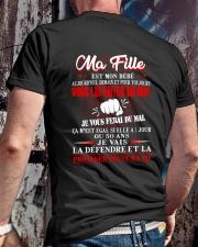 MA FILLE  Classic T-Shirt lifestyle-mens-crewneck-back-2